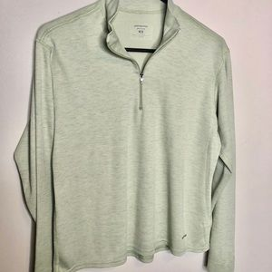 Patagonia | green alipene base zip up M